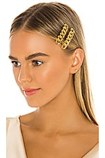 Jennifer Behr Didi Bobby Pin Set in Gold