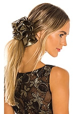 Jennifer Behr Ruffle Barrette in Gold