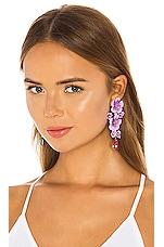 Jennifer Behr Narcissa Earrings in Violet