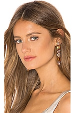 Jennifer Behr Giana Earrings in Honey