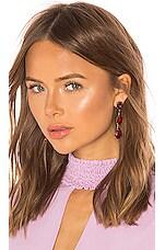 Jennifer Behr Allanah Earrings in Ruby