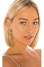 Jennifer Behr Dasha Earrings in Gold