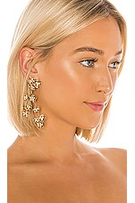 Jennifer Behr Adella Chandelier Earrings in Gold