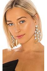 Jennifer Behr Valentina Chandelier Earrings in Crystal
