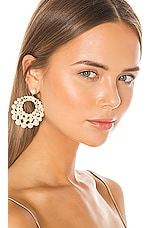 Jennifer Behr Prianna Earrings in Pearl
