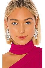Jennifer Behr Lundi Earring in Crystal
