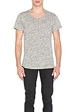 JOHN ELLIOTT Curve U-Neck in Co-Mix Grey