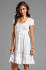 Flirty Dress in White