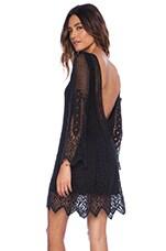 Sandalwood Mini Dress in Black