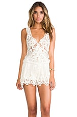 Jen's Pirate Booty Harmony Romper in Romantic Shell
