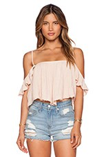 TOP CROPPED LA ROSE