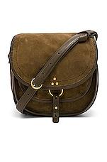 Jerome Dreyfuss Felix Medium Bag in Kaki