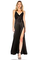 JILL JILL STUART Slip Gown in Black