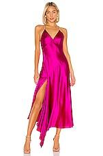 JILL JILL STUART Rhinestone Strap Slip Dress in Viola