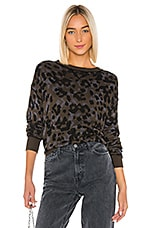 John & Jenn by Line Wes Pullover in Classic Camo