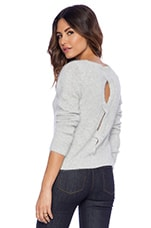 John & Jenn by Line Daisey Cullum Sweater in Carbon Grey