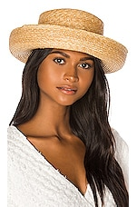 Janessa Leone Robin Bowler Hat in Natural