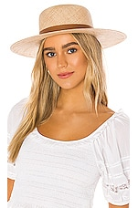 Janessa Leone Kerry Hat in Natural