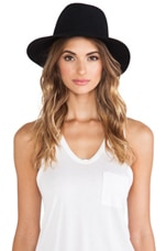 Janessa Leone Maggie Hat in Black