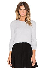 PULL SEMI-CROPPED ENCOLURE RONDE