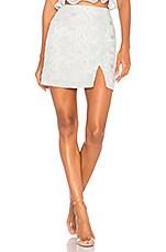 J.O.A. Lace Mini Skirt in Mint
