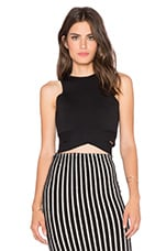TOP CROPPED WRAPPED CROP