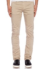 Neutral Colors Slim Fit in Sand