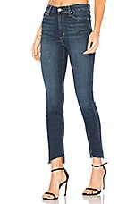 Joe's Jeans The Charlie High Rise Ankle Skinny in Dark Blue