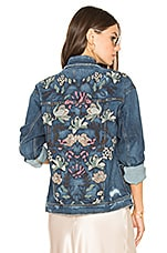 Bella Jacket in Medium Blue
