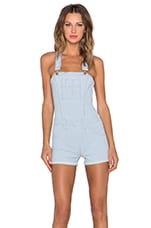 High Rise Short Overall in Jada