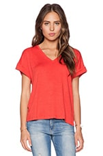 Session Tee in Poppy