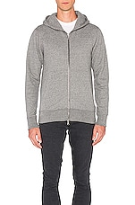 JOHN ELLIOTT Flash Dual Fullzip in Dark Grey