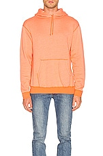 JOHN ELLIOTT Vintage Fleece Hoodie in Orange