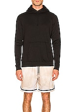 JOHN ELLIOTT Vintage Fleece Hoodie in Vintage Black