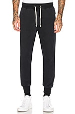 JOHN ELLIOTT Replica Sweatpants in Washed Black