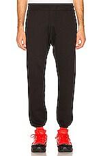 JOHN ELLIOTT Vintage Fleece Sweatpants in Vintage Black