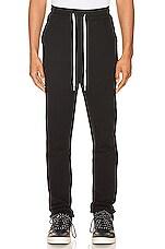 JOHN ELLIOTT Sochi Sweat Pants in Black