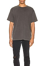 JOHN ELLIOTT University Tee in Carbon
