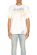 JOHN ELLIOTT University Tee in Balboa Ink Bloom