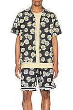 JOHN ELLIOTT Bowling Shirt in Daisy