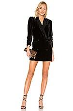 Joie Albertyne Blazer Dress in Caviar