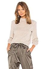 Joie Atilla Sweater in Heather Oatmeal
