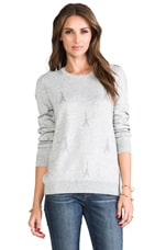 Valera B. Sweater in Light Heather Grey