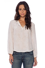 Padma Blouse in Pink Champagne