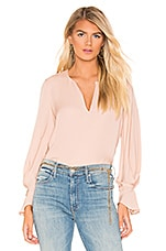 Joie Abekwa Blouse in Pink Sky