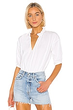 Joie Saila Blouse in Clean White