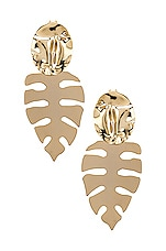 joolz by Martha Calvo Palm Springs Earring in Gold