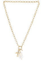 joolz by Martha Calvo The Jetsetter Necklace in Gold