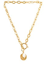 joolz by Martha Calvo Delos Charm Necklace in Gold
