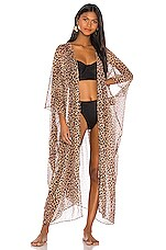 JONATHAN SIMKHAI Dress in Leopard Print